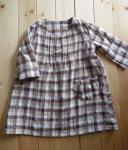 子供服型紙  KP-104  初心者さんおすすめ☆シンプルチュニックワンピース