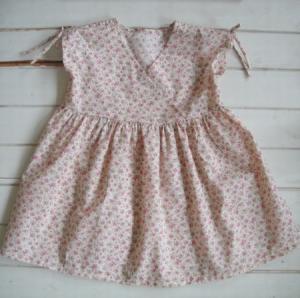 子供服型紙 KP-111 カシュクールワンピース