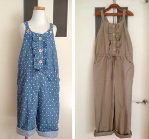 子供服型紙 KP-114 オールインワン*サロペットパンツ