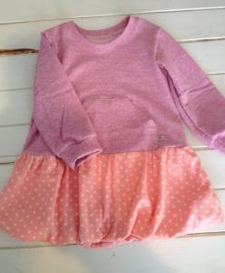 子供服型紙/バルーンスカートのワンピース 長袖キット