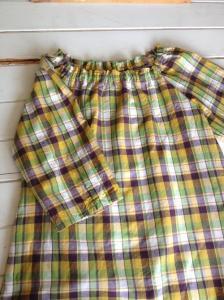 子供服型紙/婦人服型紙  KP-11 スモックブラウス2