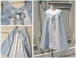 子供服型紙 KP-127 Aラインのノースリーブワンピース