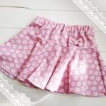 子供服型紙 KP-132  フレアー(サーキュラー)スカート