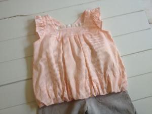 子供服型紙 KP-135 バルーンブラウス