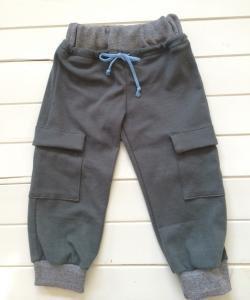 子供服型紙  KP-140  サイドポケットのスウェットパンツ