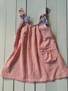 子供服型紙  KP-146  タックのサマーワンピース