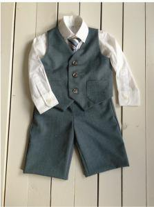 子供服型紙  KP-144 フォーマルパンツ(長、ハーフ丈)