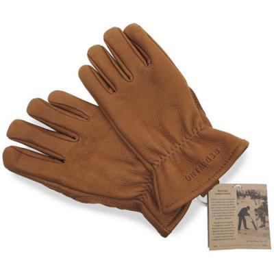 レッドウィング 革手袋 ナツメグ バックスキン