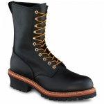 レッドウィング 2218 スチールトゥ/安全靴 ロガーマックス 9インチ高 ブラック