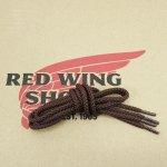 レッドウィング 純正 シューレース #595 ノースマンブーツ用 28インチ/71cm ブラウン