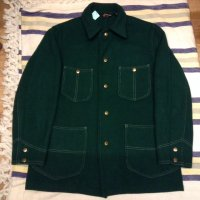 VINTAGE TOWNCRAFT wool jacket green