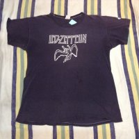 70's VINTAGE THE FLIP SIDE RECORD STORE LED-ZEPPELIN T-shirt