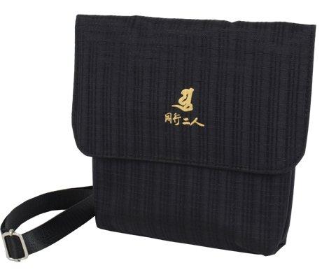 【予約販売/5月中旬 入荷予定】NEW 巡拝さんやパック:ミニ ジャカード織 黒