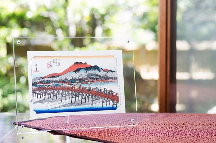 成功の京都セット<br/>/歌川広重「東海道五十三次 京都 三条大橋(きょうと さんじょうおおはし)」