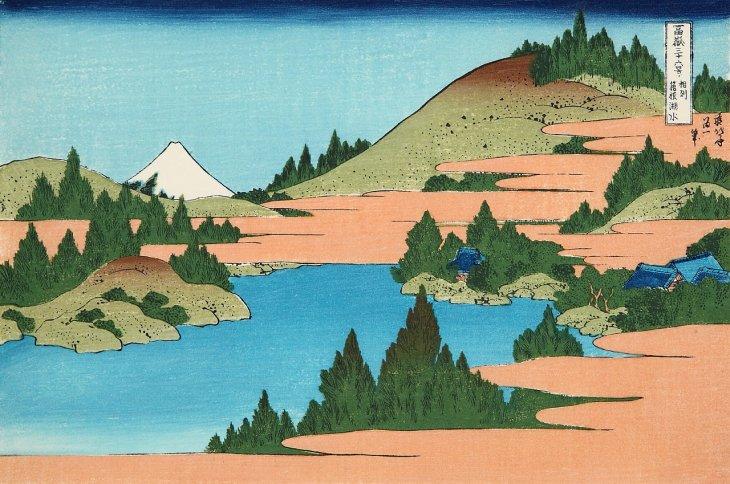 相州箱根湖水