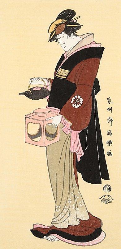 松本米三郎の仲居おつゆ