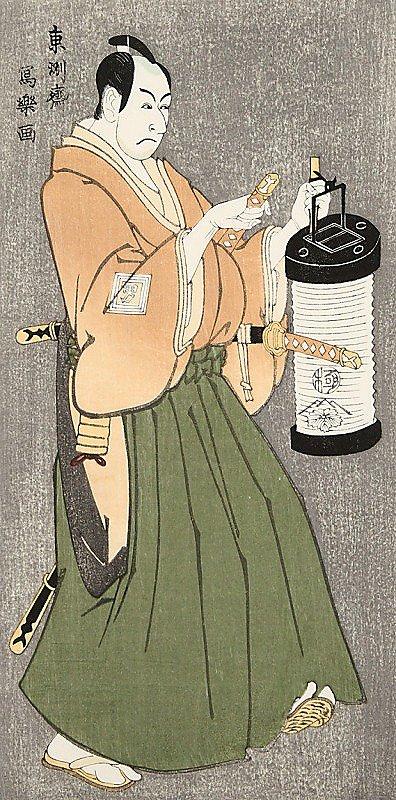 市川男女蔵の富田兵太郎