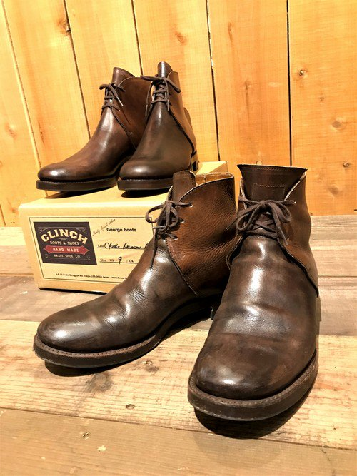 CLINCH × Sturdy別注 「George Boots」