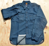 <img class='new_mark_img1' src='//img.shop-pro.jp/img/new/icons14.gif' style='border:none;display:inline;margin:0px;padding:0px;width:auto;' />MFSC 「NOS 8oz. Denim SPORTSMAN Ranger Shirt 」
