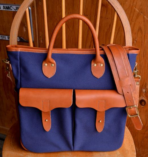 "Sturdy Luggage Supply ""TOTE BAG ORIGINAL NAVY MODEL"""