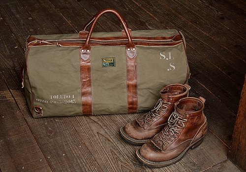 "Sturdy Luggage Supply ""TRAVEL ALL Boston Bag Olive"""