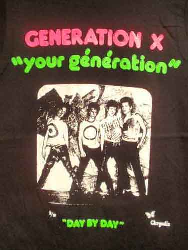 Generation X Your Generation T-Shirt