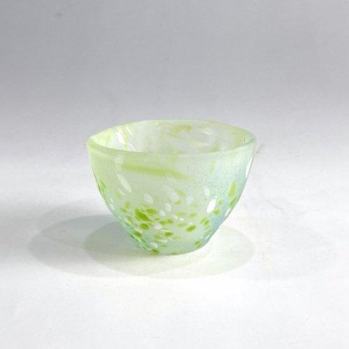 【青山硝子】ぐい飲み GN-1061(グリーン)