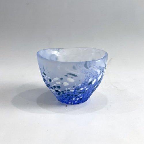 【青山硝子】ぐい飲み GN-1062(ブルー)