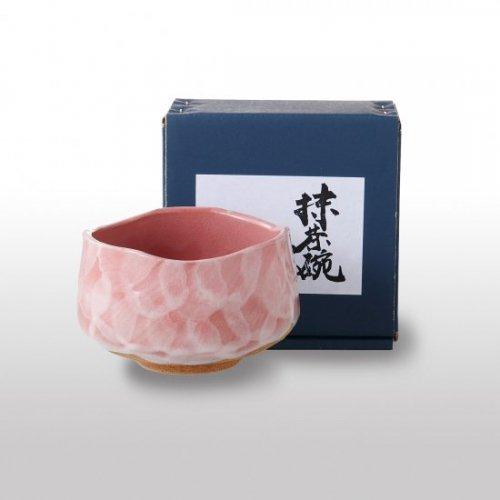 <抹茶碗>ピンク粉引【2043-5-41】