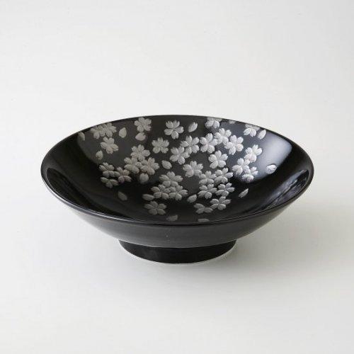 銀彩桜 盛鉢【2073-2-45】