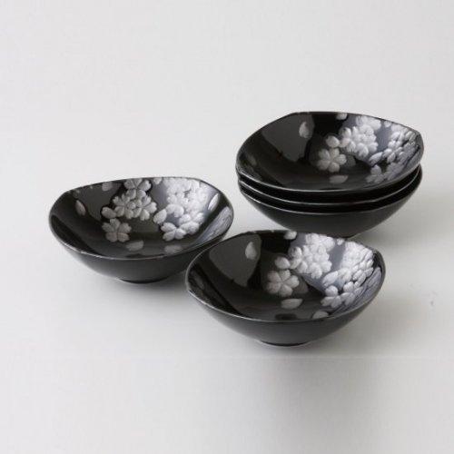 銀彩桜 浅鉢【2073-3-45】