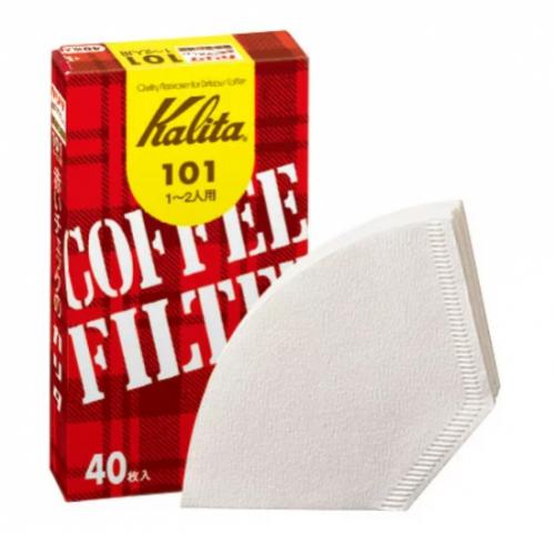 コーヒーフィルター 101 濾紙ホワイト #11037 40枚入