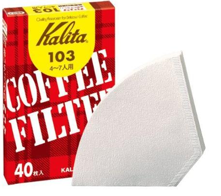 コーヒーフィルター 103 濾紙ホワイト #15027 40枚入