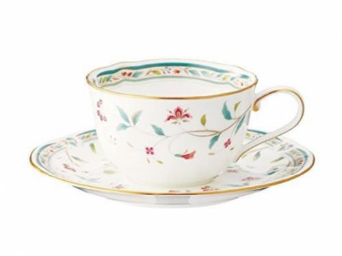 花更紗 コーヒー碗皿 T59387A-4409 1客