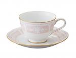 レースウッドゴールドティー・コーヒー碗皿 Y9587A-1507-4 1客 ピンク