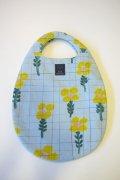 ミナペルホネン flow dance egg bag (ライトブルーのみ)