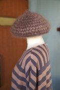sugri  モヘアベレー帽 (モカ)