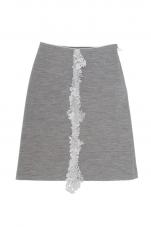 ミナペルホネン forest parade スカート (グレー/40のみ)