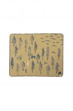 ミナペルホネン one day ブランケット (54×68)