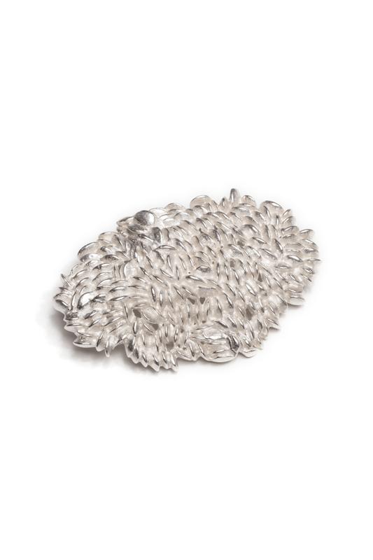Ryui Scale brooch -jaggy-