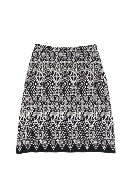 ミナペルホネン symphony スカート(embroidery)