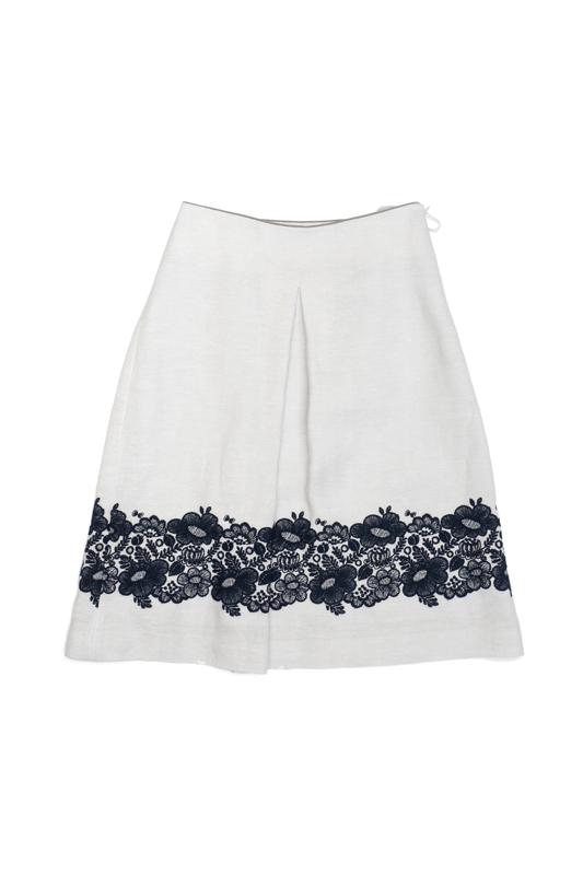 ミナペルホネン smile flower スカート (38のみ)