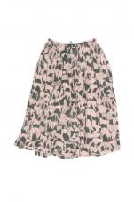 ミナペルホネン life puzzle ゴムギャザースカート
