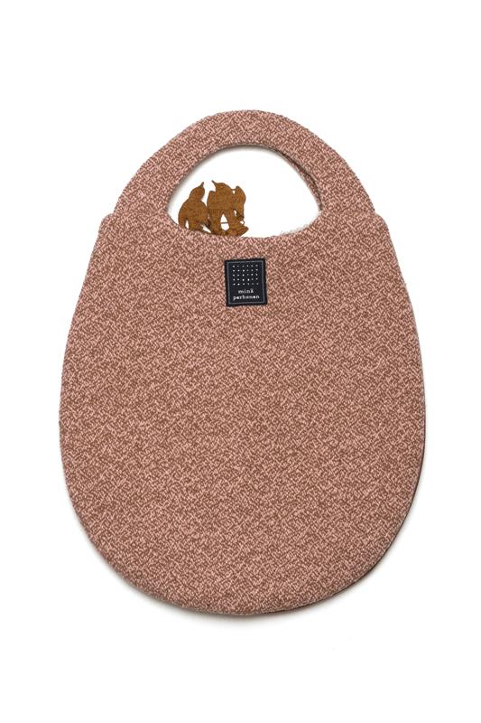 mina perhonen forest parade egg bag (ピンクのみ)