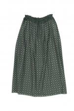 mina perhonen flower beads ロングスカート