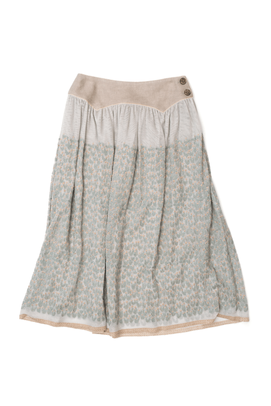mina perhonen moss flower スカート