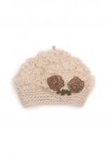 mina perhonen×hitomi shinoyama design -yula- ベレー帽