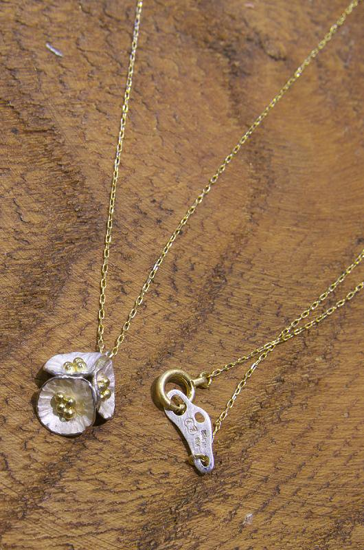 Petit flower_necklace / mix ネックレス