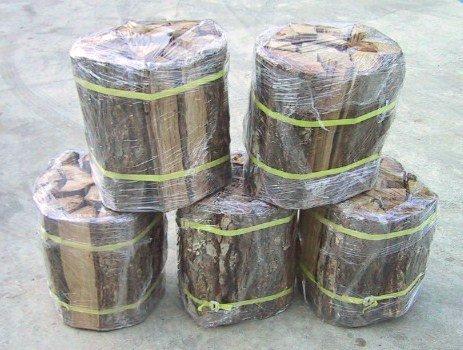 楢薪 大割 長さ30~27cm 5束分 (5個口総重量75kg超)自然乾燥品送料安