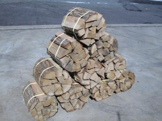 楢薪 大割 長さ40~36cm 10束分(10個口総重量160kg超)自然乾燥品送料安